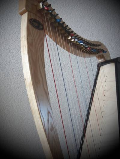 Atelier de relaxation à la harpe le 23 juin 2021